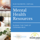 Mental Health Resources COVID 19