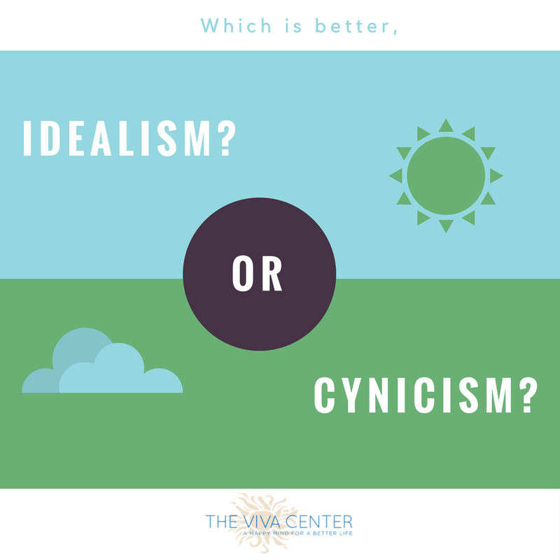 Idealism or Cynicism Blog