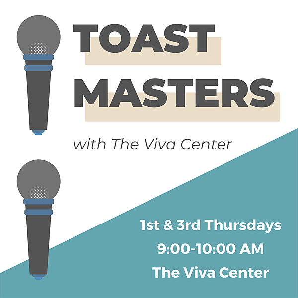 Toastmasters at Viva Center